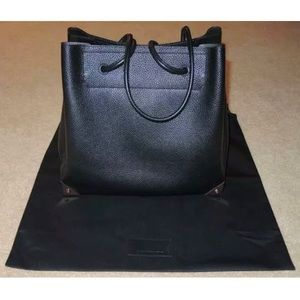 Alexander Wang Prisma Tote Black Pebbled Leather
